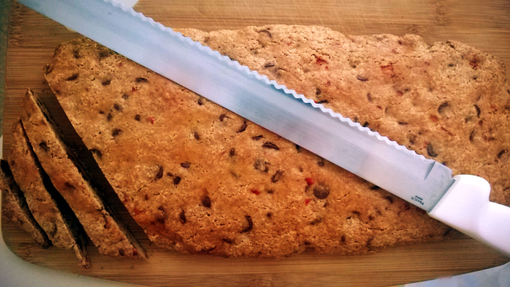 Chile Chocolate Chip Biscotti | Pink Tie Bakery